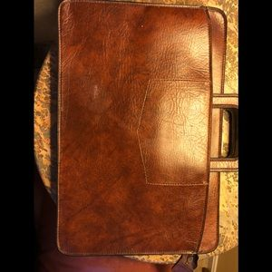 Other - Brown Leather Legal carrying case.